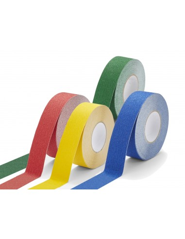 Anti-Slip Floor Marking Tape 60 Grit Standard Colours -