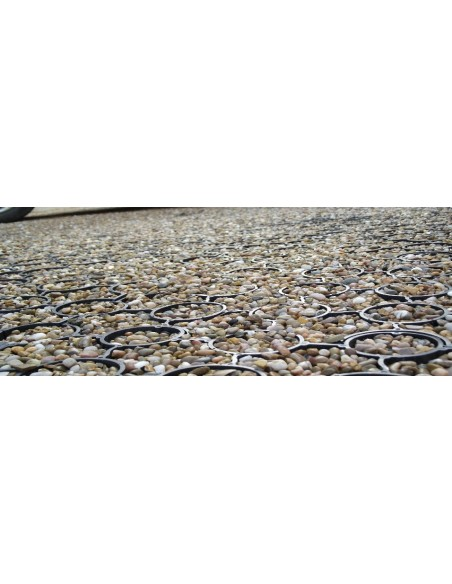 Plastic Permeable Paving Grids, 40mm thick -