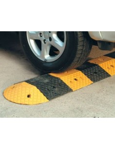 5mph Heavy Duty Rubber Speed Bump  -