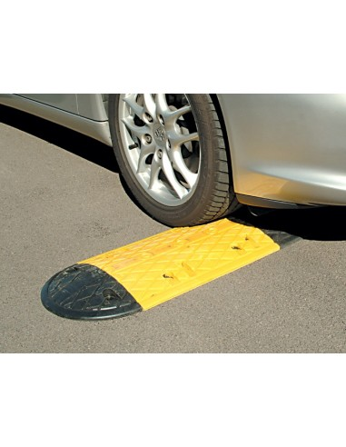 10mph Low Profile Rubber Speed Bump  -