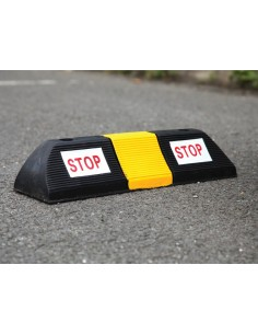 Small Rubber Parking Block, 500mm x 130mm x 100mm -