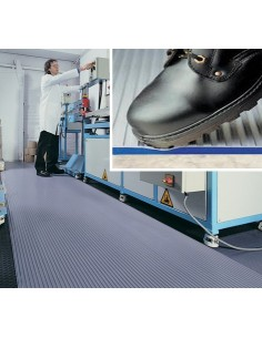 ZED TRED Ribbed Anti-Fatigue Matting, 13mm thick -