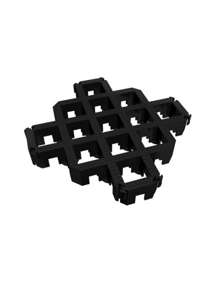 Heavy Duty Plastic Permeable Paving Grids, 80mm thick -
