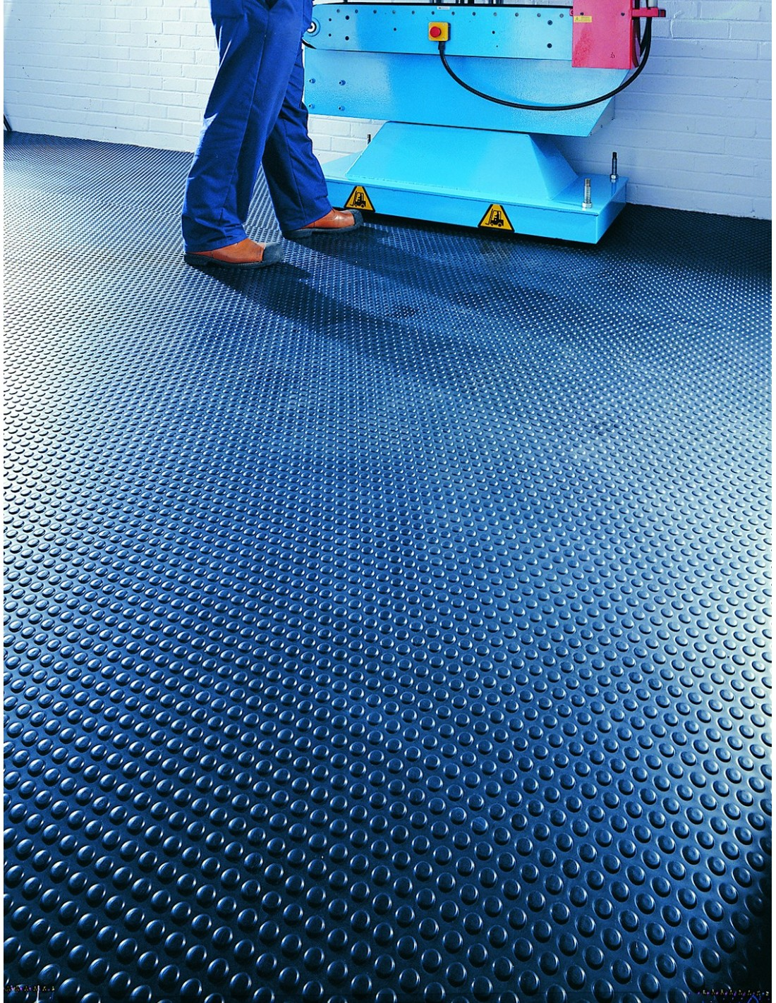 Flexi Button Studded Pvc Floor Matting Rolls Anti Slip