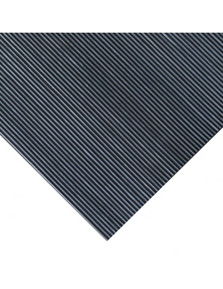 Fine Ribbed Rubber Runner Matting, 3mm - 10mm thick -