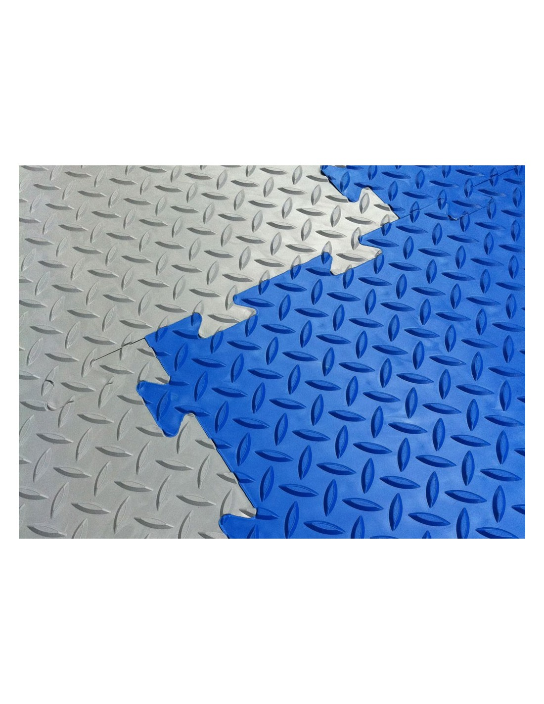 Checkerlok Interlocking Pvc Floor Tile Puzzle Mats