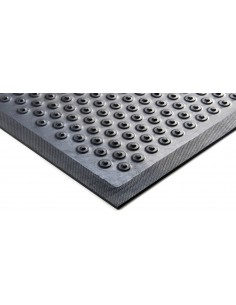 Cushion Coil Anti-Fatigue Rubber Mat, 7.5mm thick -