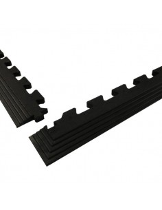 Interlocking Rubber Edging Strip, 17mm -