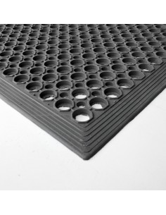 Bevelled Rubber Ring Mat, 12mm thick -
